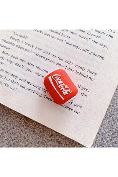 Coca Cola Temalı Sevimli Silikon Kablo Koruyucu