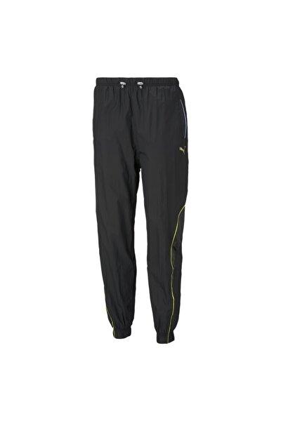 Kadın Siyah Evide Woven Track Pants  Eşofman Altı - 53084801
