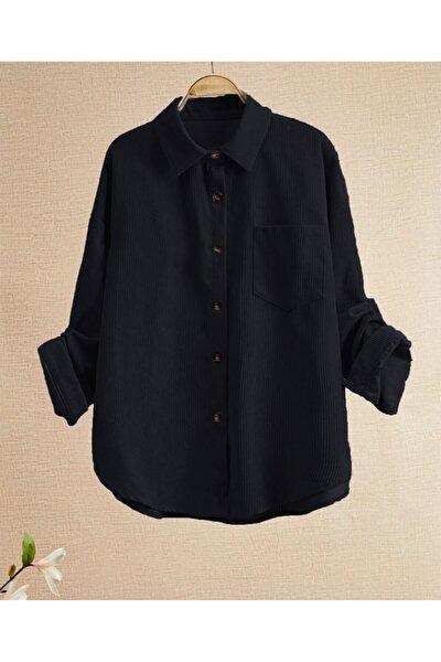 Kadife Gömlek Tunik