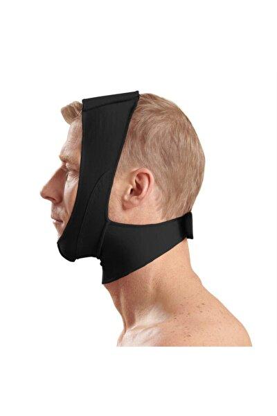 Siyah Çene Boyun Bandı Yüz Liposuction Gıdı Yüz Korsesi Bandajı