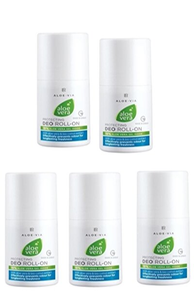 Aloe Vera Deo Roll On 50 Ml X 5 Adet