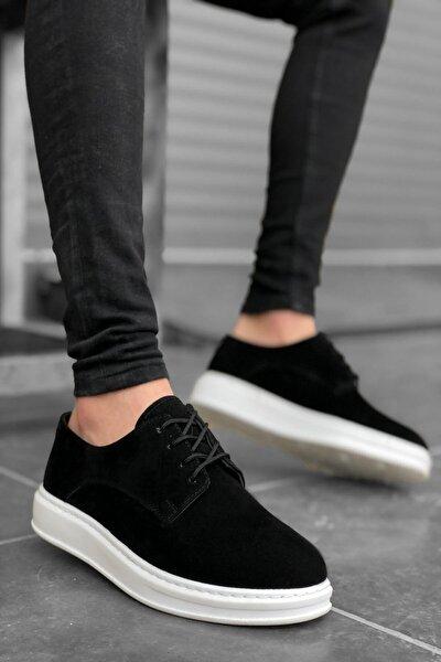 Erkek Siyah Süet Ayakkabı