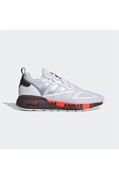 Erkek Beyaz Bağcıklı Yürüyüş Ayakkabısı