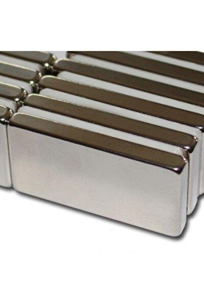 Çok Güçlü 40mm X 20mm X 5mm Köşeli Süper Güçlü Neodyum Mıknatıs