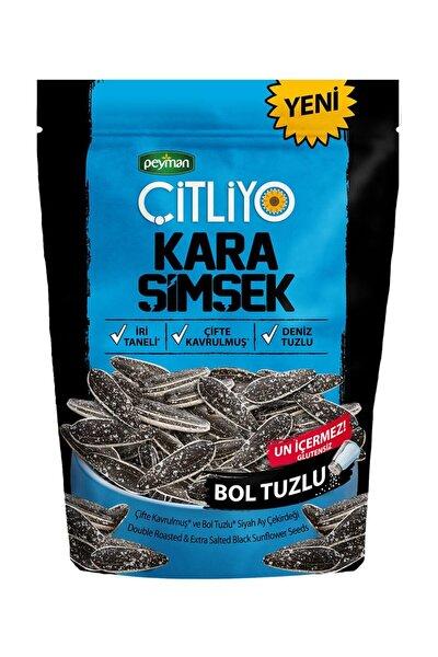 Çitliyo Kara Şimşek Bol Tuzlu 120 gr