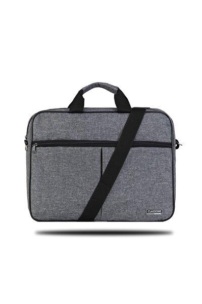 Gri 15,6 inç Uyumlu Laptop Notebook El Çantası