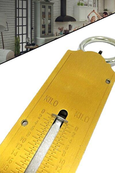 Pocket Balance 50 Kg Mekanik Metal El Kantarı Tartı Terazi Gold Series 1410