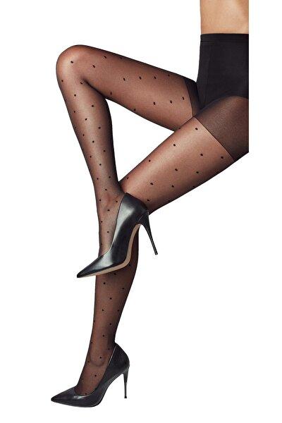 Stil 15 Denye Desenli Külotlu Çorap