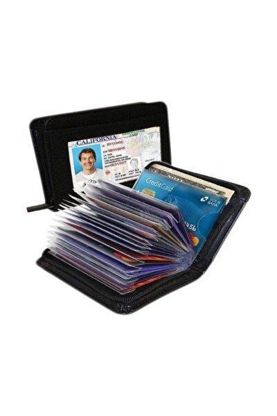 Kredi Kartı Kartlık Güvenlikli Kartvizitlik Bay Bayan Cep Cüzdanı