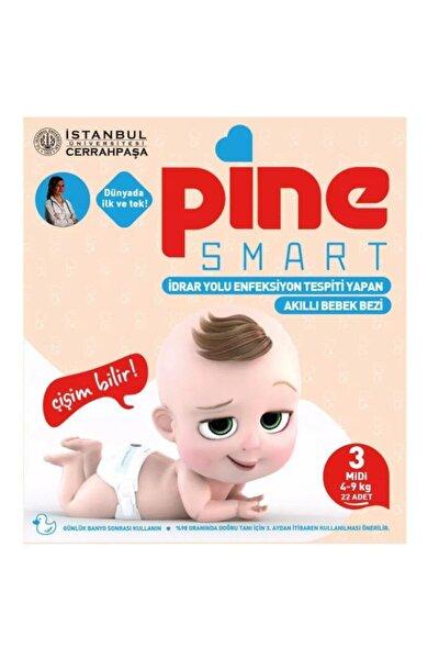 Smart Akıllı Bebek Bezi No 3 Midi 4-9 kg 22'li 1 Paket