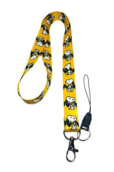 Snoopy Boyun Ipi Ve Telefon Askısı