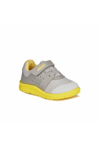 Unisex Çocuk Gri Sarı Mario2 Spor Ayakkabı