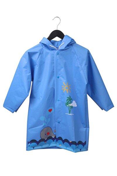 Erkek Çocuk Mavi Yağmurluk Sfr01