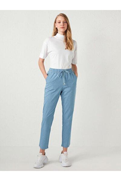 Kadın Mavi Jean