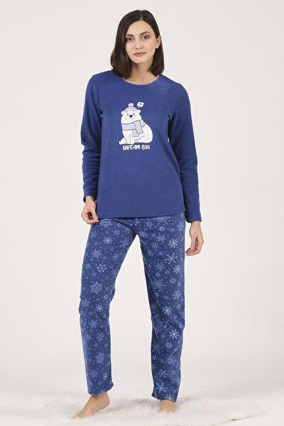 Kadın Polar Pijama Takımı
