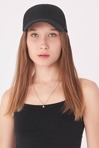 Kadın Siyah Şapka Şpk1044 - E2 ADX-0000023643