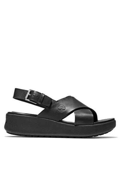 Kadın Siyah Los Angeles Wind Slingbac Sandalet