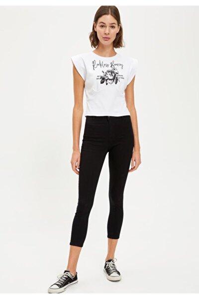 Süper Skinny Dokuma Pantolon
