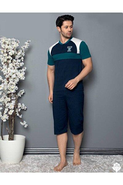 Erkek Pijama Takımı Kısa Kollu