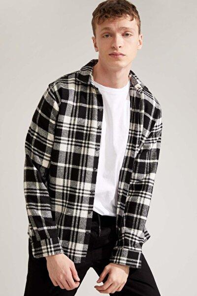Regular Fit Uzun Kollu Gömlek Ceket