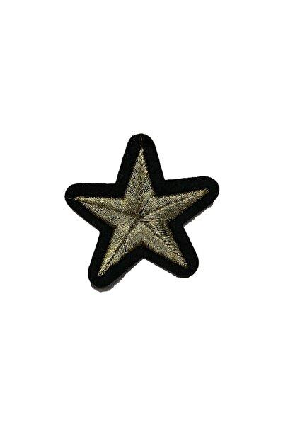 Yıldız Arma Yama Patch Sticker ( Ütüyle Yapışan Arma )