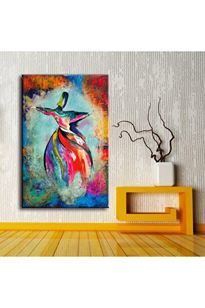 Semazen Renkler Dinikanvas Tablo - 60x90