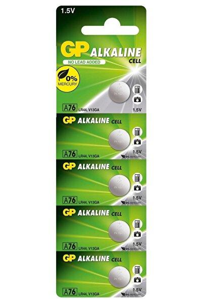 5'li LR44 Alkalin Düğme Pil (GPA76-C5)