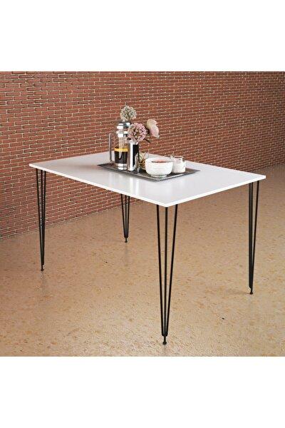 Tek Masa Beyaz 130x70cm