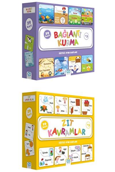 2'li Eğitici Oyun Kartları Set
