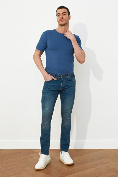 Indigo Erkek Skinny Destroylu Jeans TMNSS20JE0306