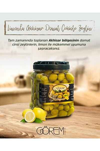 Limonlu Çekiçte Zeytin 1 Kg
