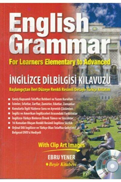 English Grammar Ingilizce Dilbilgisi Kılavuzu (CD'Lİ)