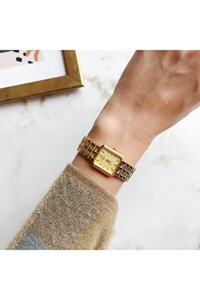 Vintage Ecco Gold Mini Kadın Kol Saati