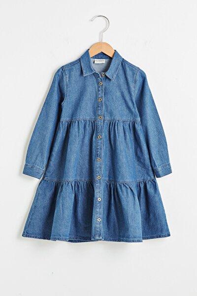 Kız Çocuk Koyu Rodeo 309 Jeans