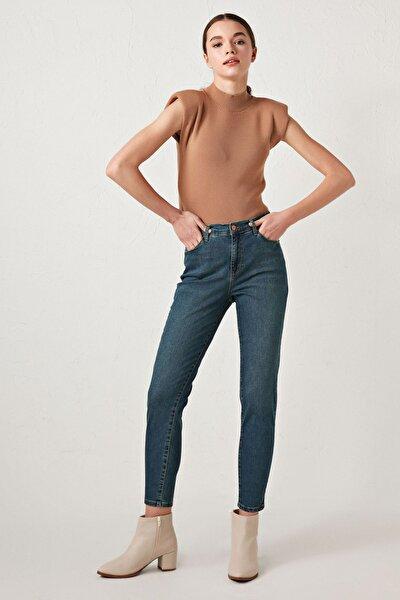 Kadın Orta Rodeo Jean