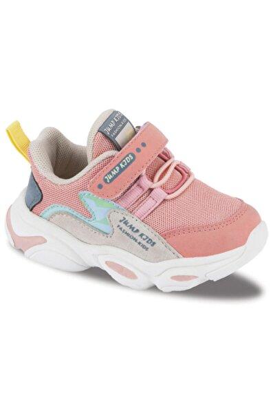 25833 Somon Pembe - Bej Uniseks 02211 Çocuk Spor Ayakkabı 21-25