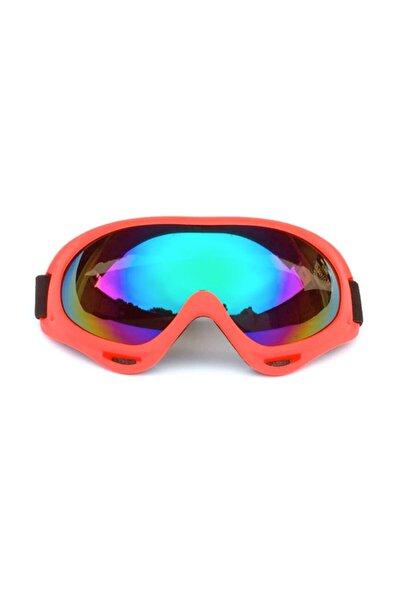 Kayak Gözlüğü Motorsiklet Windproof Korumalı - Kiremit Rengi