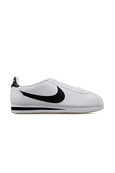 Unisex Beyaz Classic Cortez Leather Ayakkabı 807471-101