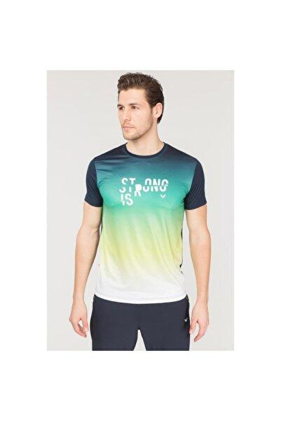 Erkek Lacivert Antrenman T-Shirt