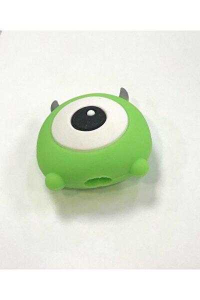 Sevimli Kablo Koruyucu Yeşil Göz (15)