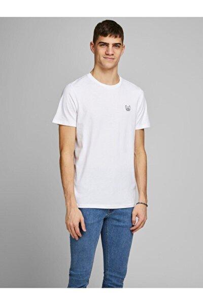 12164931 Erkek Jjedenım Logo Tee Ss O-neck Noos Tops T-shirts