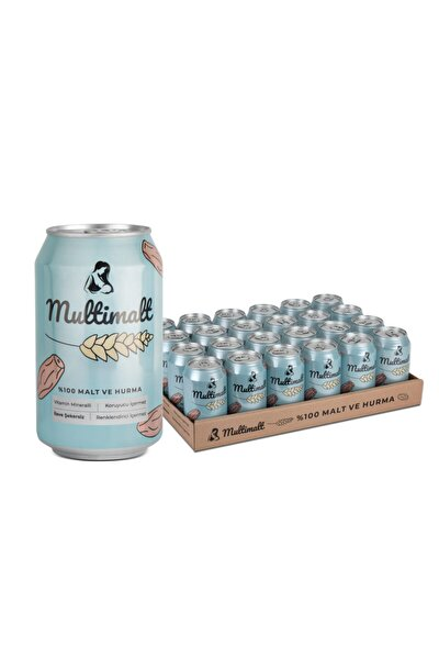 Anne Sütü Arttıran Alkolsüz %100 Malt Ve Hurma Suyu 330 Ml X 6 Adet