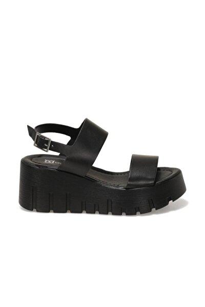 21S-0691FX Siyah Kadın Dolgu Topuklu Sandalet 101029272