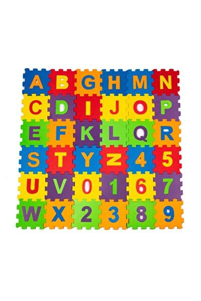 Oyuncak Eva Puzzle 12 X 12 Cm X 7 Mm Harfler Ve Sayılar /