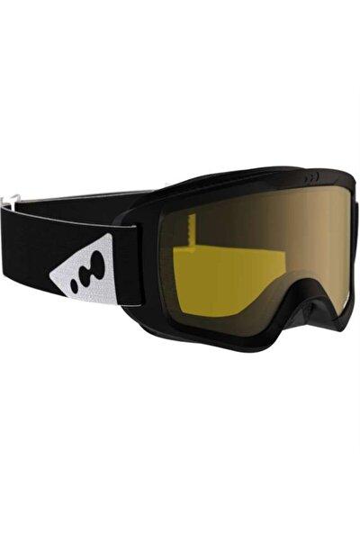 Kayak / Snowboard Gözlüğü - Yetişkin Siyah - Wedze Large Sıze