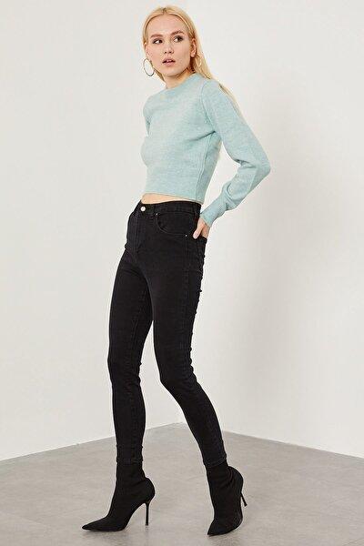 Yüksek Bel Likralı Pantolon