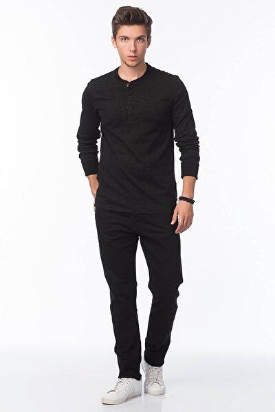 Erkek Siyah 512 Slim Taper Fit Jean Pantolon 28833-0013