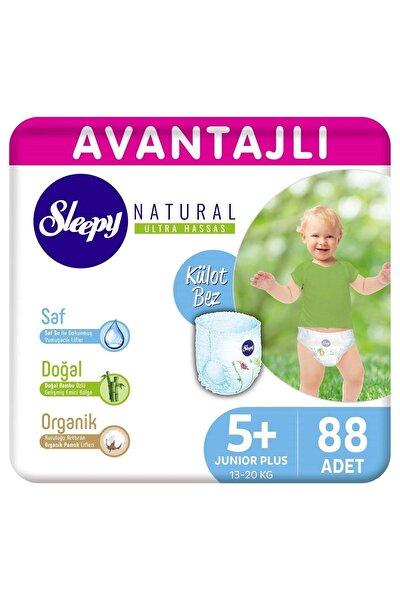 Natural Avantajlı Külot Bez 5+ Numara Junior Plus 88 Adet