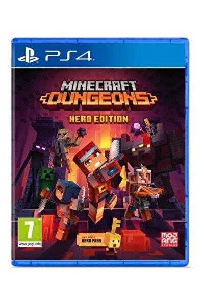 Minecraft Dungeons Hero Edition Ps4 Oyun