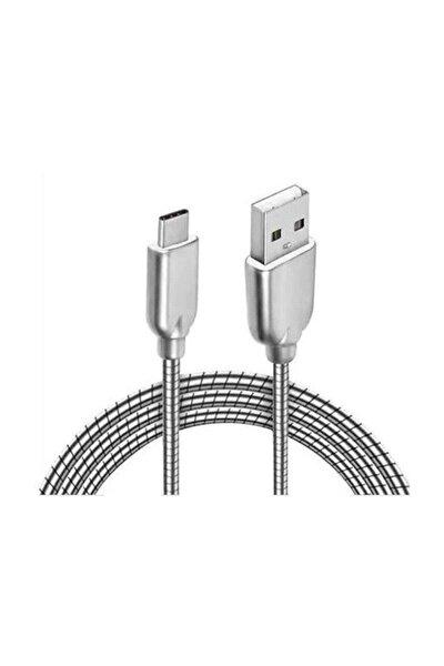 Sony Xperia XZS Metal Type C Usb Şarj Kablosu 2A